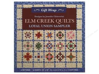 Workman Publishing $10 - $12: C&T Publishing Gift Wrap & Tags Elm Creek Quilts by Jennifer Chiaverini