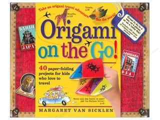 Bazooples Paper Craft Books: Workman Publishing Origami On The Go Book