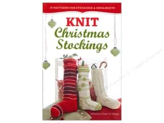 Christmas New Year: Storey Publications Knit Christmas Stockings Book