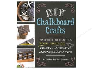 Books & Patterns $9 - $15: Adams Media Corporation DIY Chalkboard Crafts Book by Lizette Schapekahm