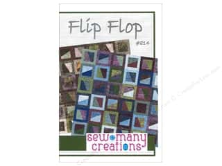 Pleasant Valley Creations Fat Quarter / Jelly Roll / Charm / Cake Patterns: Sew Many Creations Flip Flop Pattern