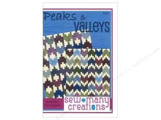 Sew Many Creations Fat Quarters Patterns: Sew Many Creations Peaks & Valleys Pattern