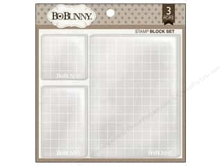 Inkadinkado Stamp Placement Tools: Bo Bunny Stamp Block Set