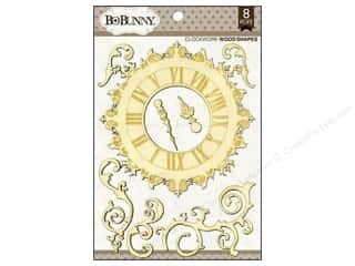 Doily Bo Bunny Embellishments: Bo Bunny Wood Shapes Clockwork