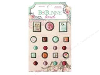 Clearance Bo Bunny Paper Collection Packs: Bo Bunny Brads 19 pc. Madeleine