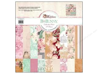 Papers Bo Bunny 12 x 12 in. Paper: Bo Bunny 12 x 12 in. Paper Collection Pack Madeleine