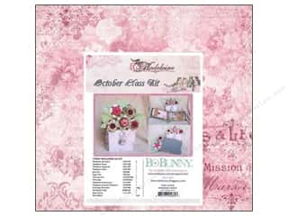 Chipboard Projects & Kits: Bo Bunny Class Kits Madeleine