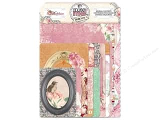 Clearance Bo Bunny Mini Albums: Bo Bunny Misc Me Journal Contents Madeleine