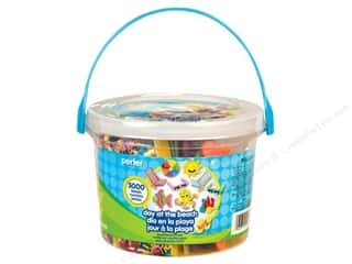 Beach & Nautical $10 - $43: Perler Fused Bead Kit Bucket Day At The Beach