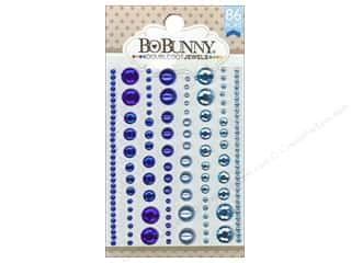 2013 Crafties - Best Adhesive: Bo Bunny Double Dot Jewels 86 pc. Blue Hues