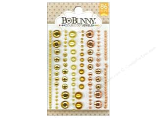 Rhinestones Scrapbooking Sale: Bo Bunny Double Dot Jewels 86 pc. Citrus