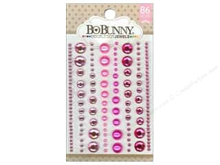 Rhinestones Sale: Bo Bunny Double Dot Jewels 86 pc. Think Pink