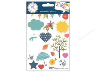Simple Stories Alphabet Stickers: Simple Stories SN@P! Stickers Seasons