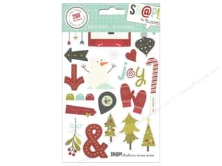 Caption Stickers / Frame Stickers: Simple Stories SN@P! Stickers Tis The Season