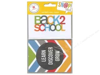 Scrapbooking Back To School: Simple Stories SN@P! Cards 3 x 4 in. School
