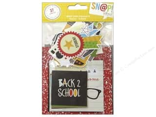 Back To School Papers: Simple Stories SN@P! Insta Squares & Pieces School