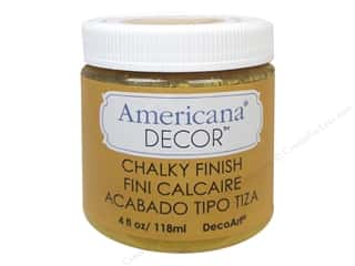 Finishes 4 oz: DecoArt Americana Decor Chalky Finish 4oz Inheritance
