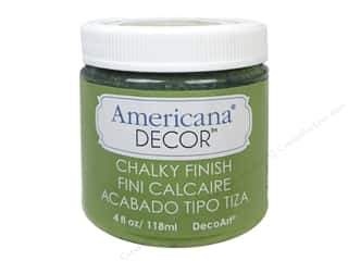 New Americana: DecoArt Americana Decor Chalky Finish 4oz New Life