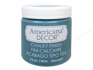 Finishes 4 oz: DecoArt Americana Decor Chalky Finish 4oz Treasure