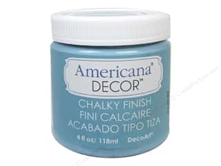 Finishes 4 oz: DecoArt Americana Decor Chalky Finish 4oz Escape