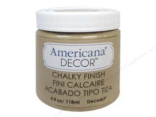 Finishes 4 oz: DecoArt Americana Decor Chalky Finish 4oz Heirloom