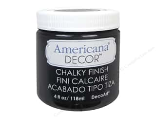 carbon: DecoArt Americana Decor Chalky Finish 4oz Carbon