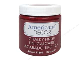 DecoArt Americana Decor Chalky Finish 4oz Rouge