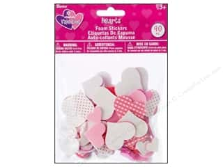 Darice Foamies Sticker Hearts