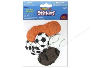 Kids Crafts Sports: Darice Foamies Sticker Play Ball