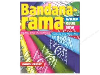 Fun Stitch Studio An Imprint of C & T Publishing Clearance Books: FunStitch Studio By C&T Bandana-rama Wrap Glue Sew Book