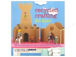 Eco Friendly /Green Products Kids Crafts: Ryland Peters & Small Recycled Crafting For Kids Book