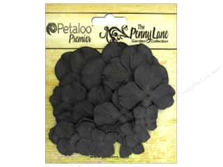 Petaloo Chipboard Embellishments: Petaloo Color Me Crazy Chalkboard Flowers Hydrangea