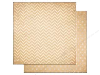 Bo Bunny 12 x 12 in. Paper Double Dot Chevron Chiffon (25 piece)