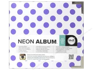 "Scrapbook / Photo Albums Brand-tastic Sale: We R Memory Album 4""x 4"" Instagram Neon Purple"