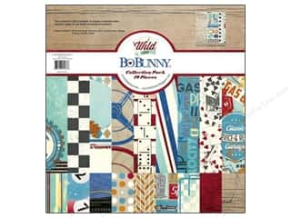 Bo Bunny 12 x 12 in. Paper Collection Pack Wild Card