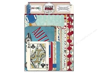 Clearance Bo Bunny Mini Albums: Bo Bunny Misc Me Journal Contents Wild Card