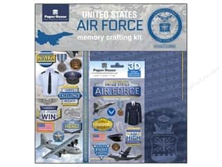 Careers & Professions Crafting Kits: Paper House Paper Kit United States Air Force