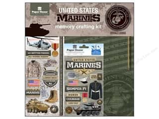 Stars Weekly Specials: Paper House Paper Kit United States Marines