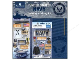 Snow Texture Weekly Specials: Paper House Paper Kit United States Navy
