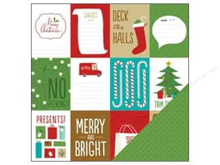 American Crafts 12 x 12 in. Paper Be Merry Christmas Cards (25 piece)