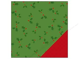 American Crafts 12 x 12 in. Paper Be Merry Holly (25 piece)
