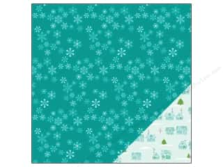 American Crafts 12 x 12 in. Paper Be Merry Let It Snow (25 piece)