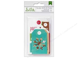 Tags Clearance Crafts: American Crafts Decorative Tags Be Merry From Santa