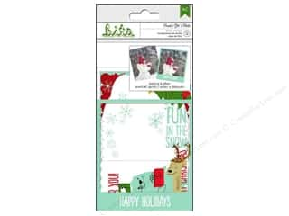 Scrapbooking Clear: American Crafts Photo Overlays Be Merry Frost