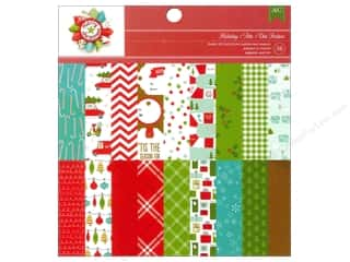 American Crafts Sheets: American Crafts 6 x 6 in. Paper Pad Be Merry