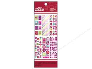 Valentines Day Gifts Stamps: EK Sticko Stickers Valentine Pad