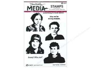 Ranger Stamp Dina Wakley Media Cling From The Past