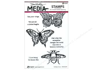 Insects: Ranger Stamp Dina Wakley Media Cling Scribbly Insects