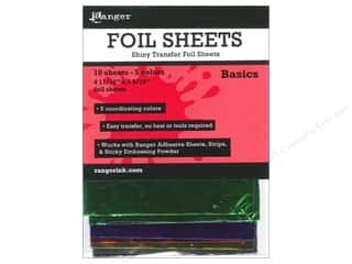 "Rub-Ons 5"": Ranger Essentials Shiny Transfer Foil Basics"