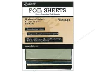 Foil Scrapbooking & Paper Crafts: Ranger Essentials Shiny Transfer Foil Vintage